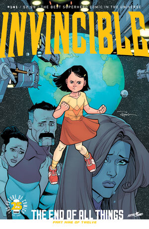 Cover for Invincible #141 (2017)