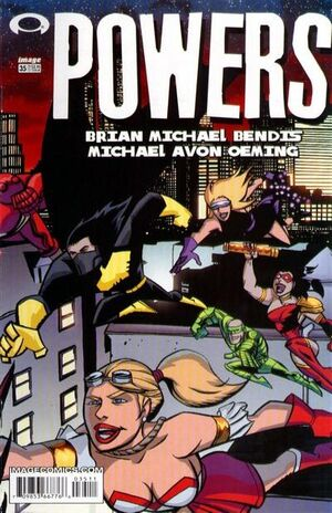 Cover for Powers #35 (2003)