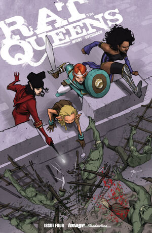 Cover for Rat Queens #4 (2014)