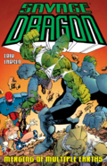 Savage Dragon Merging of Multiple Earths TPB