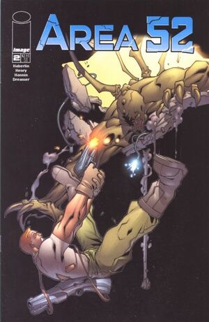 Cover for Area 52 #2 (2001)