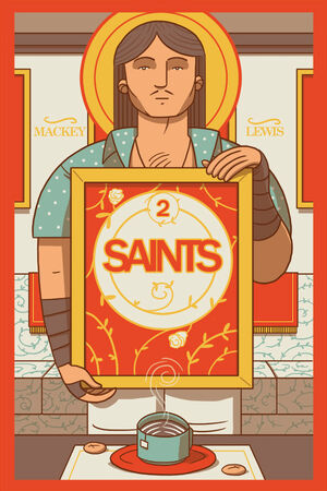 Cover for Saints #2 (2015)