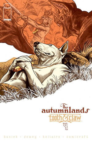 Cover for The Autumnlands #4 (2014)