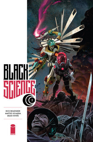 Cover for Black Science #2 (2013)