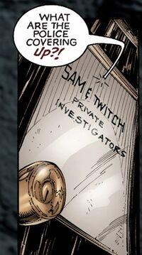 Sam and Twitch's Private Investigators Office 001