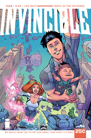 Cover for Invincible #118 (2015)