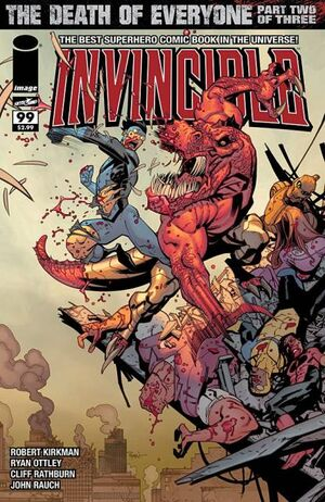 Cover for Invincible #99 (2013)