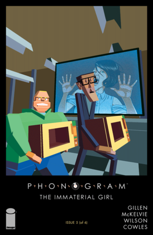 Cover for Phonogram: The Immaterial Girl #5 (2015)