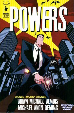 Cover for Powers #1 (2000)