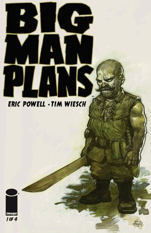 Cover for Big Man Plans #1 (2015)