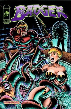 Cover for Badger #5 (1997)