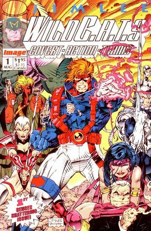Cover for WildC.A.T.s #1 (1992)