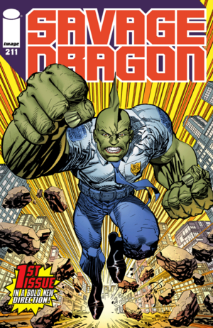Cover for Savage Dragon #211 (2016)