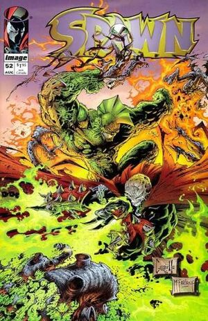 Cover for Spawn #52 (1996)
