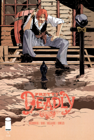 Cover for Pretty Deadly #4 (2014)