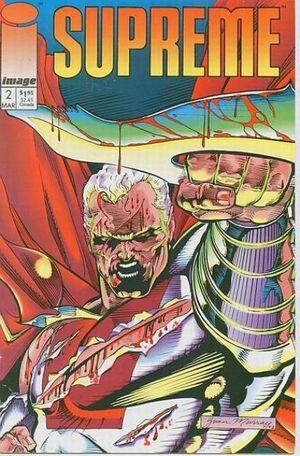 Cover for Supreme #2 (1993)