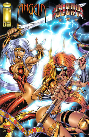 Cover for Angela & Glory: Rage of Angels #1 (1996)
