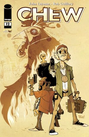 Cover for Chew #12 (2010)