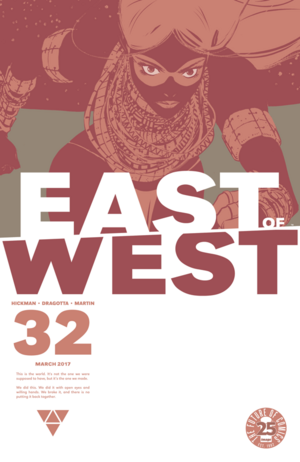 Cover for East of West #32 (2016)