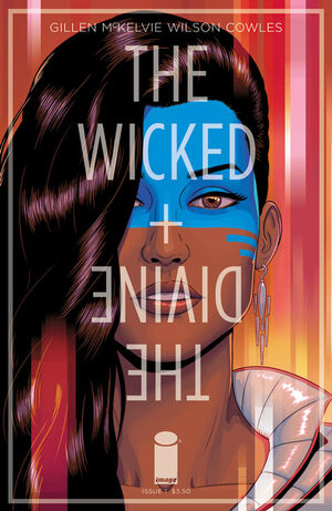 Cover for The Wicked + The Divine #5 (2014)