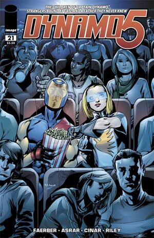 Cover for Dynamo 5 #21 (2009)
