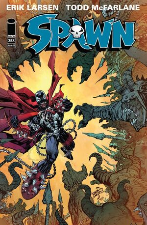 Cover for Spawn #258 (2015)
