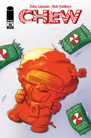 Cover for Chew #46 (2015)