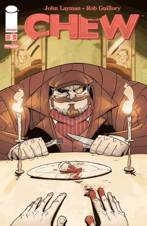 Cover for Chew #5 (2009)