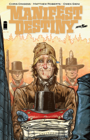 Cover for Manifest Destiny #18 (2015)