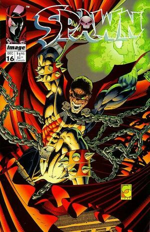 Cover for Spawn #16 (1993)