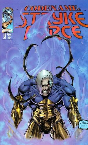 Cover for Codename: Strykeforce #10 (1995)