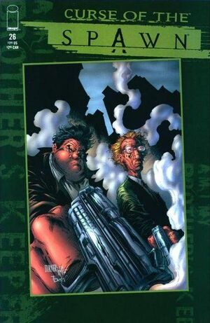 Cover for Curse of the Spawn #26 (1998)