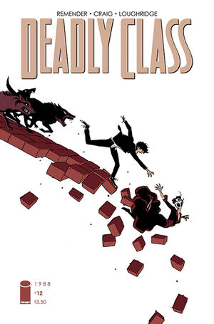 Cover for Deadly Class #12 (2015)