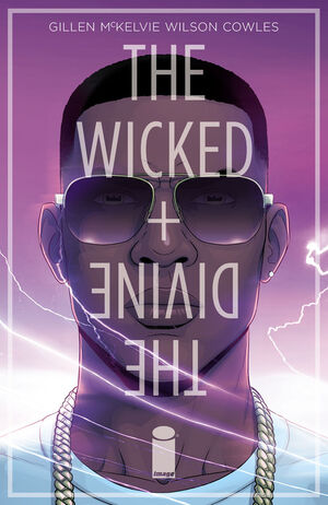 Cover for The Wicked + The Divine #4 (2014)