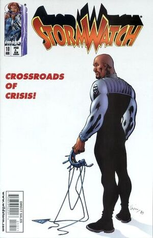 Cover for StormWatch #10 (1998)
