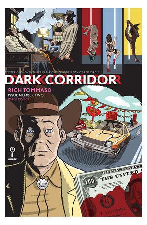Cover for Dark Corridor #2 (2015)
