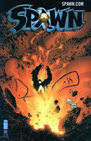 Cover for Spawn #92 (2000)