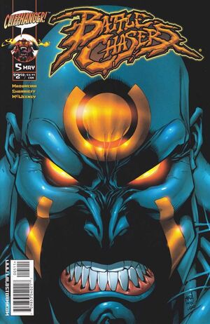 Cover for Battle Chasers #5 (1999)