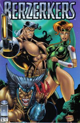 Cover for Berzerkers #3 (1995)