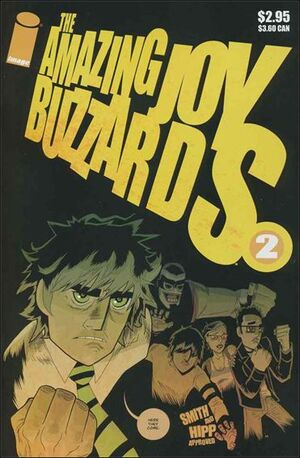 Cover for Amazing Joy Buzzards #2 (2005)