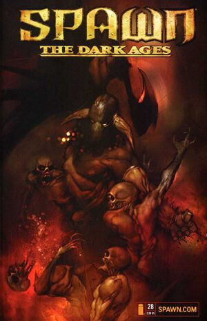 Cover for Spawn The Dark Ages #28 (2001)