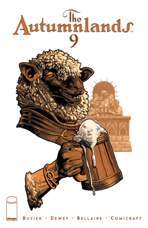 Cover for The Autumnlands #9 (2016)