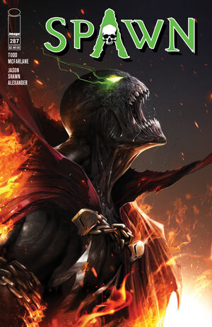 Cover for Spawn #287 (2018)