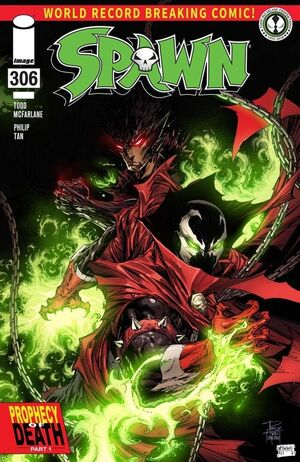 Cover for Spawn #306 (2020)