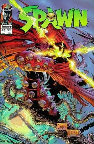 Cover for Spawn #45 (1996)