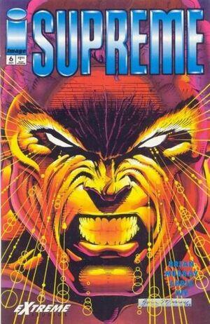 Cover for Supreme #6 (1993)
