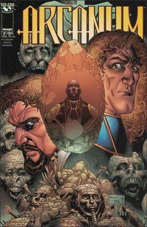 Cover for Arcanum #7 (1998)