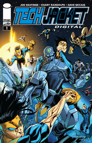 Cover for Tech Jacket Digital #1 (2014)