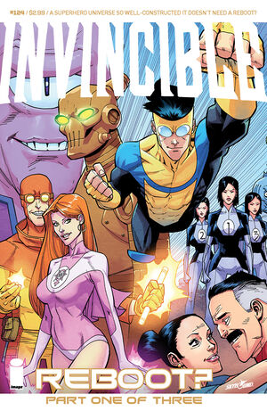 Cover for Invincible #124 (2015)
