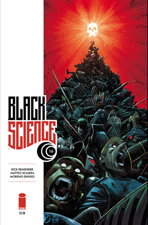 Cover for Black Science #16 (2015)